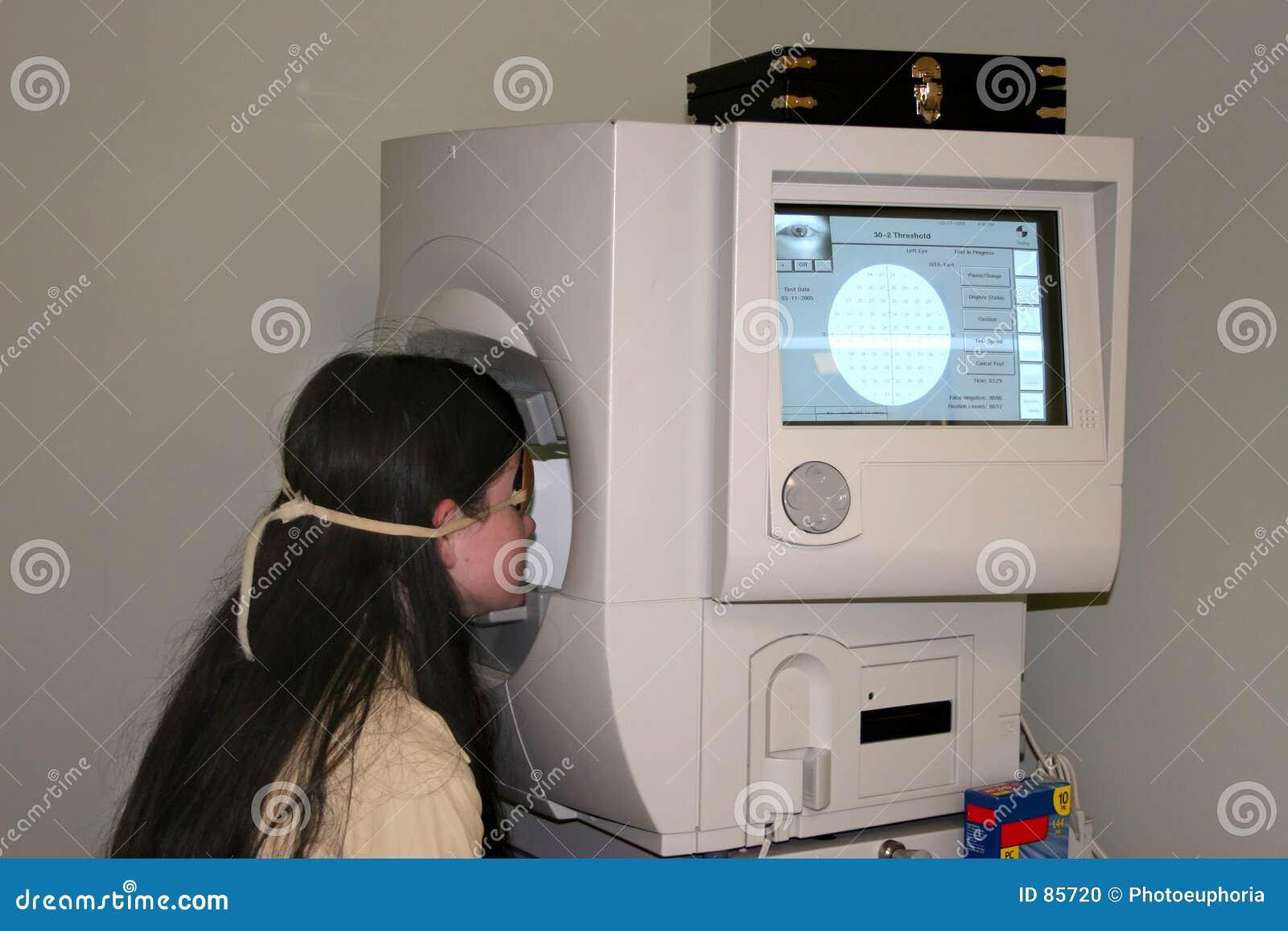 Weź dziecko pole wizję testowego