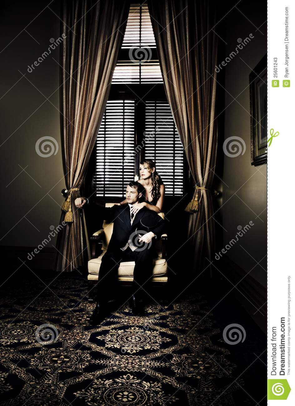 Wealthy Young Couple Stock Image Image Of Male Interior