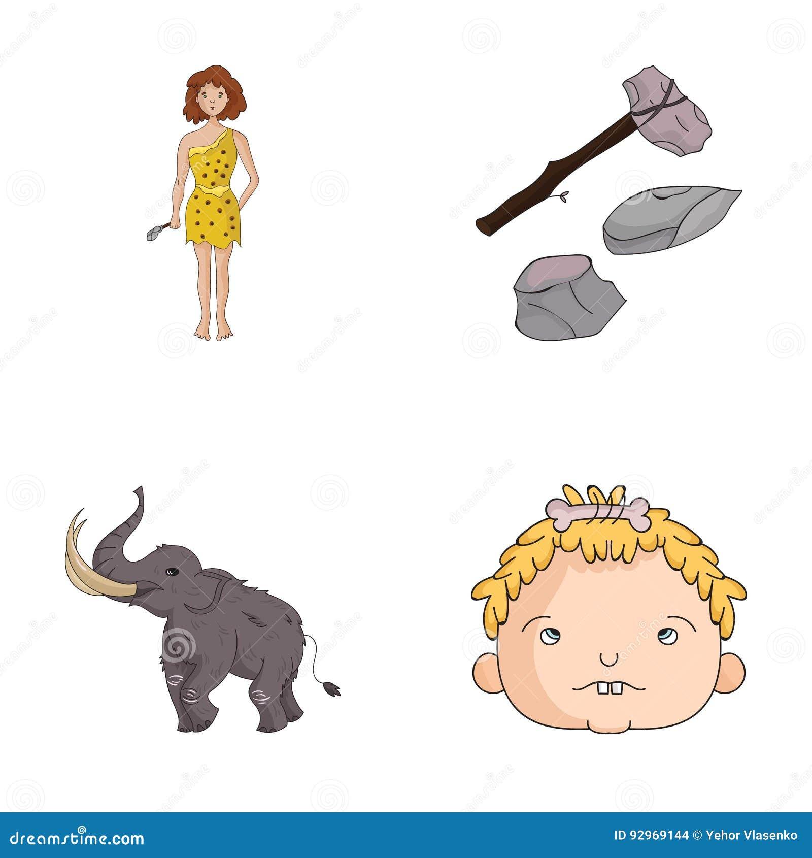Caveman Hammer : Stone age hammer cartoon pixshark images