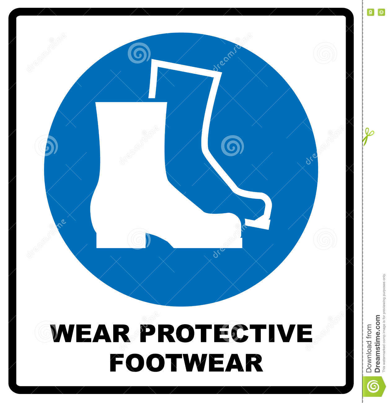 wear safety footwear protective safety boots must be worn