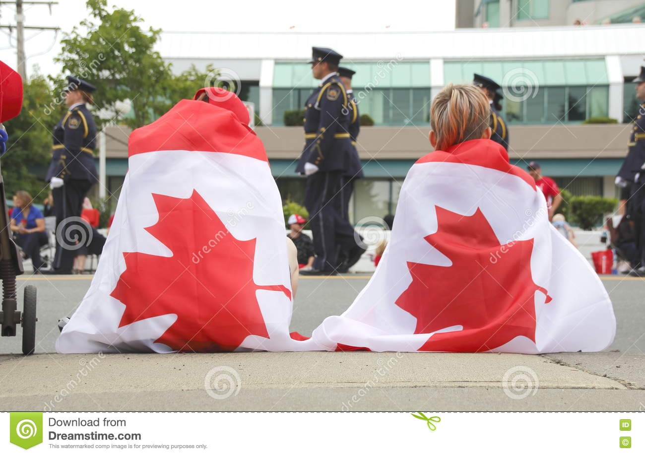 bb3841d7cdb10 Wearing Flag Canada Day Stock Images - Download 34 Royalty Free Photos
