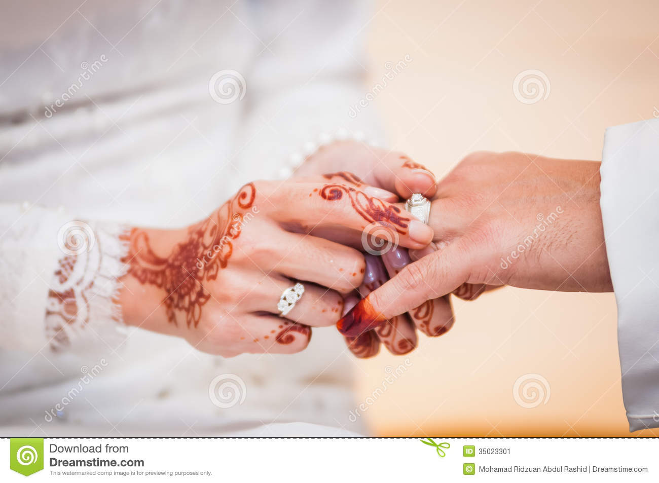 Wearing the wedding ring stock image Image of wedding 35023301