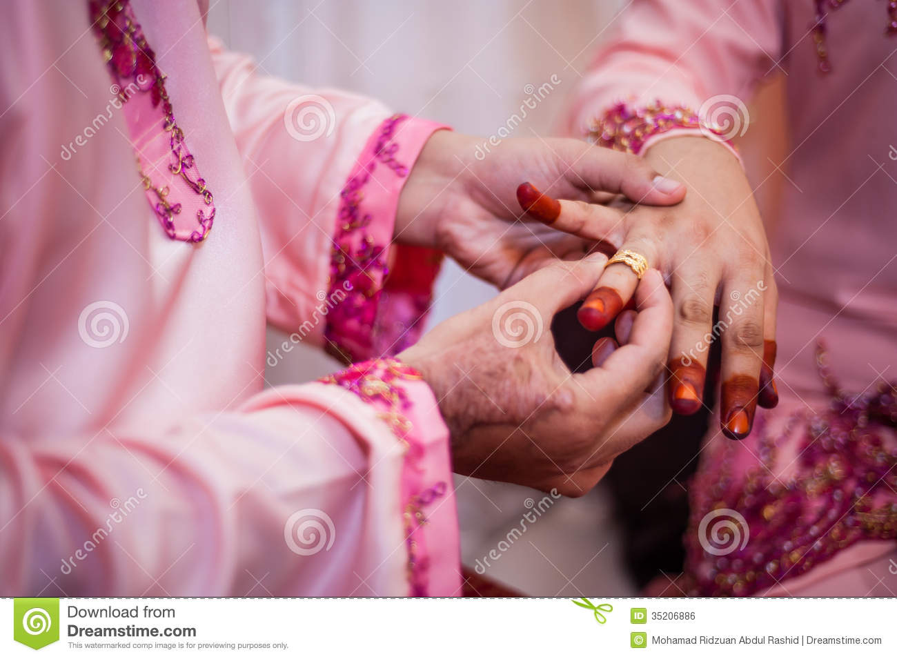 Wearing the wedding ring stock photo. Image of life, parts - 35206886