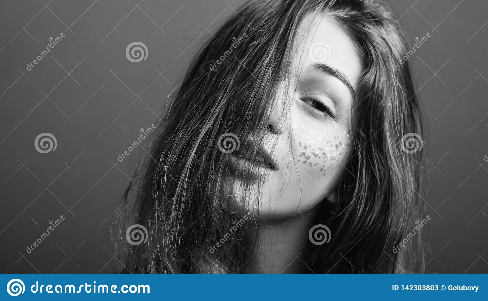 Weary Young Woman Exhaustion Sleep Deprivation Stock Image