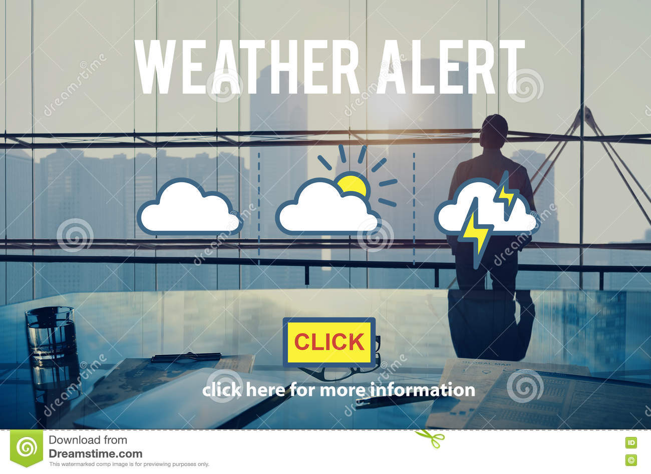 Weather Alert Information Prediction Climate Daily Concept