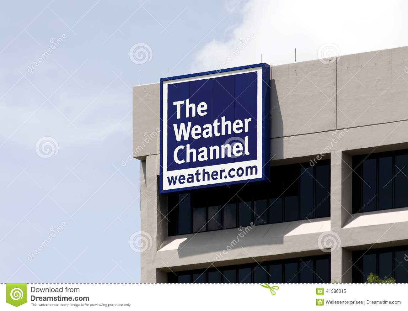 the weather channel world headquarters editorial image