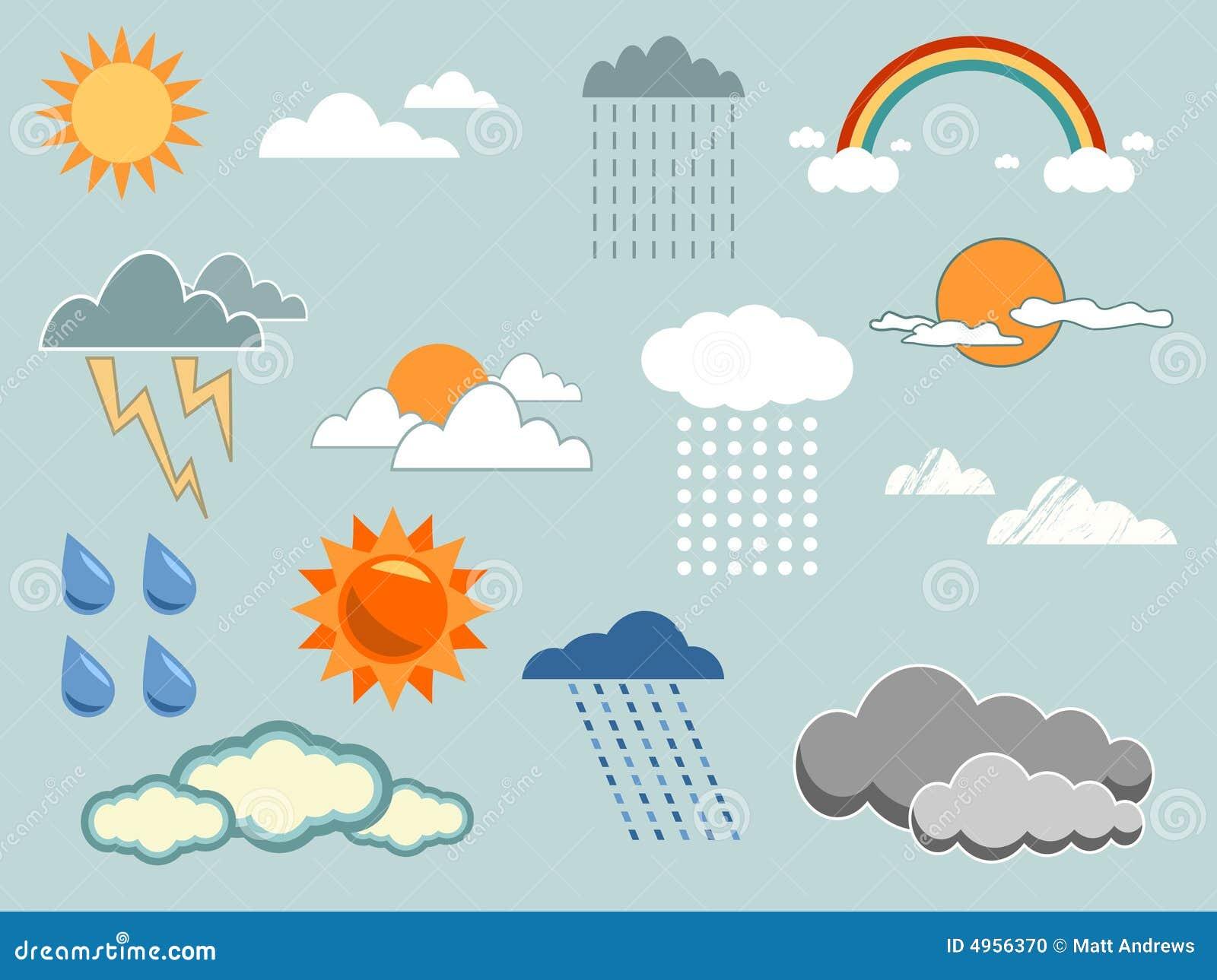 Weather Elements Stock Photo - Image: 4956370