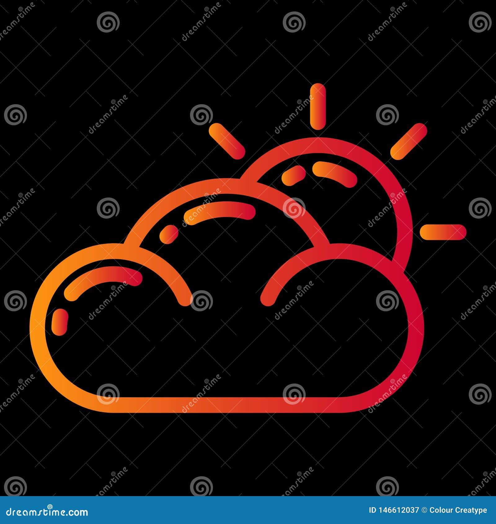 Weather icon design