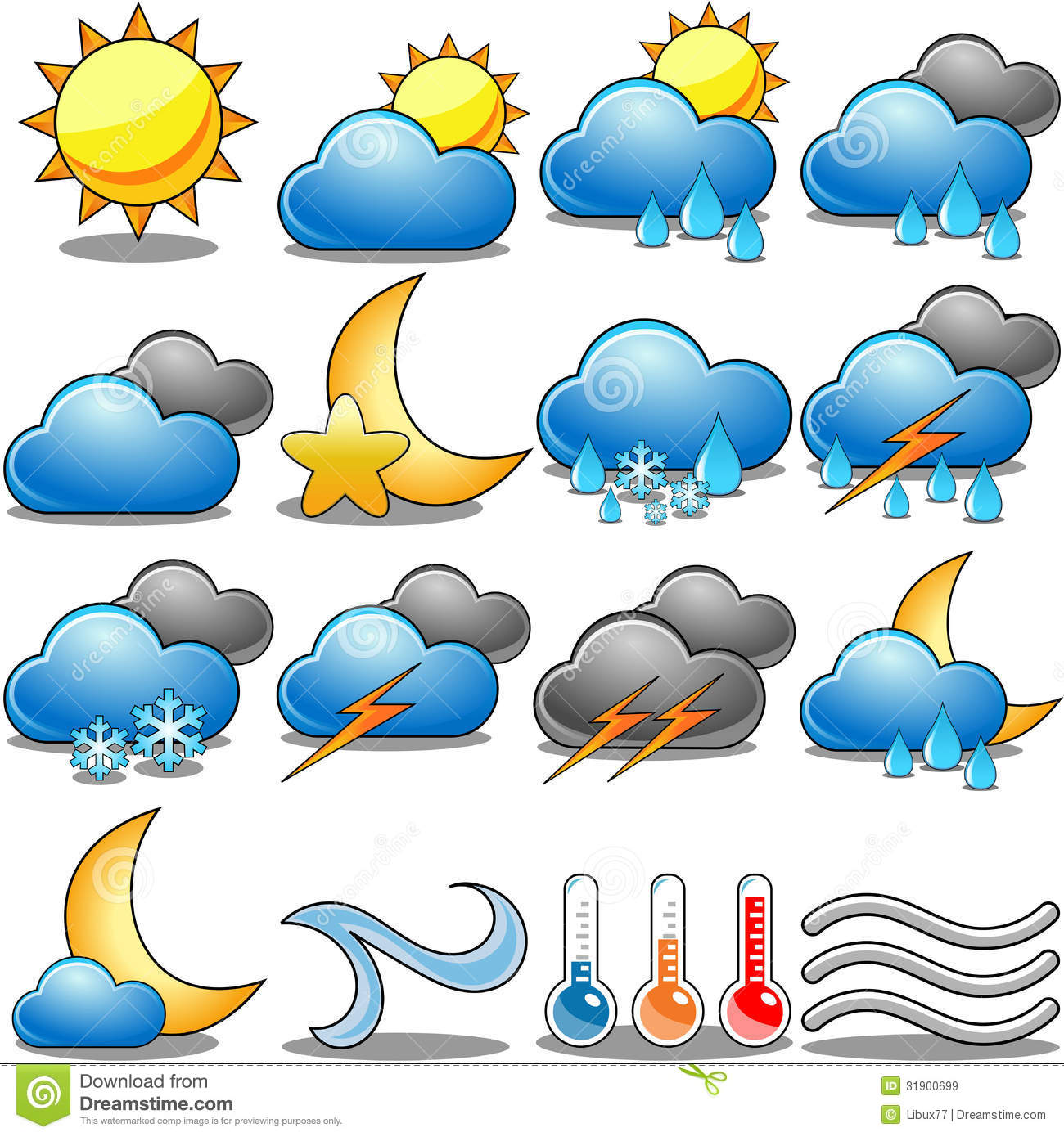 weather icon set royalty free stock images image 31900699 storm cloud clipart storm cloud with lightning clipart