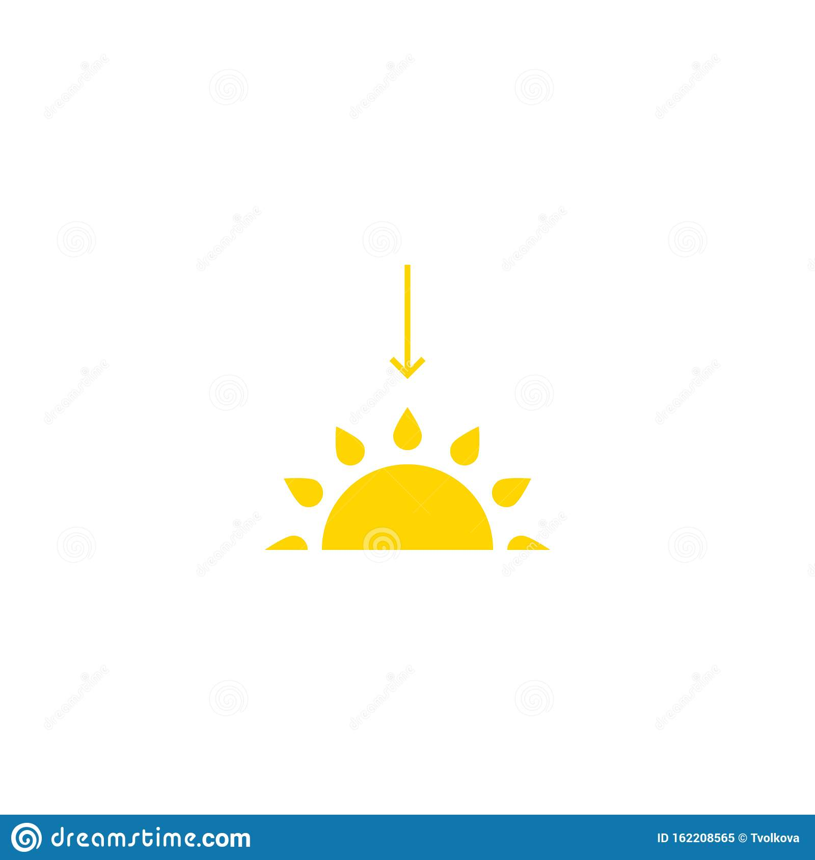 weather icon sunset icon vector isolated illustration stock vector illustration of background clipart 162208565 https www dreamstime com weather icon sunset vector isolated illustration flat simple design can be using posters leaflets banners web mobile app image162208565