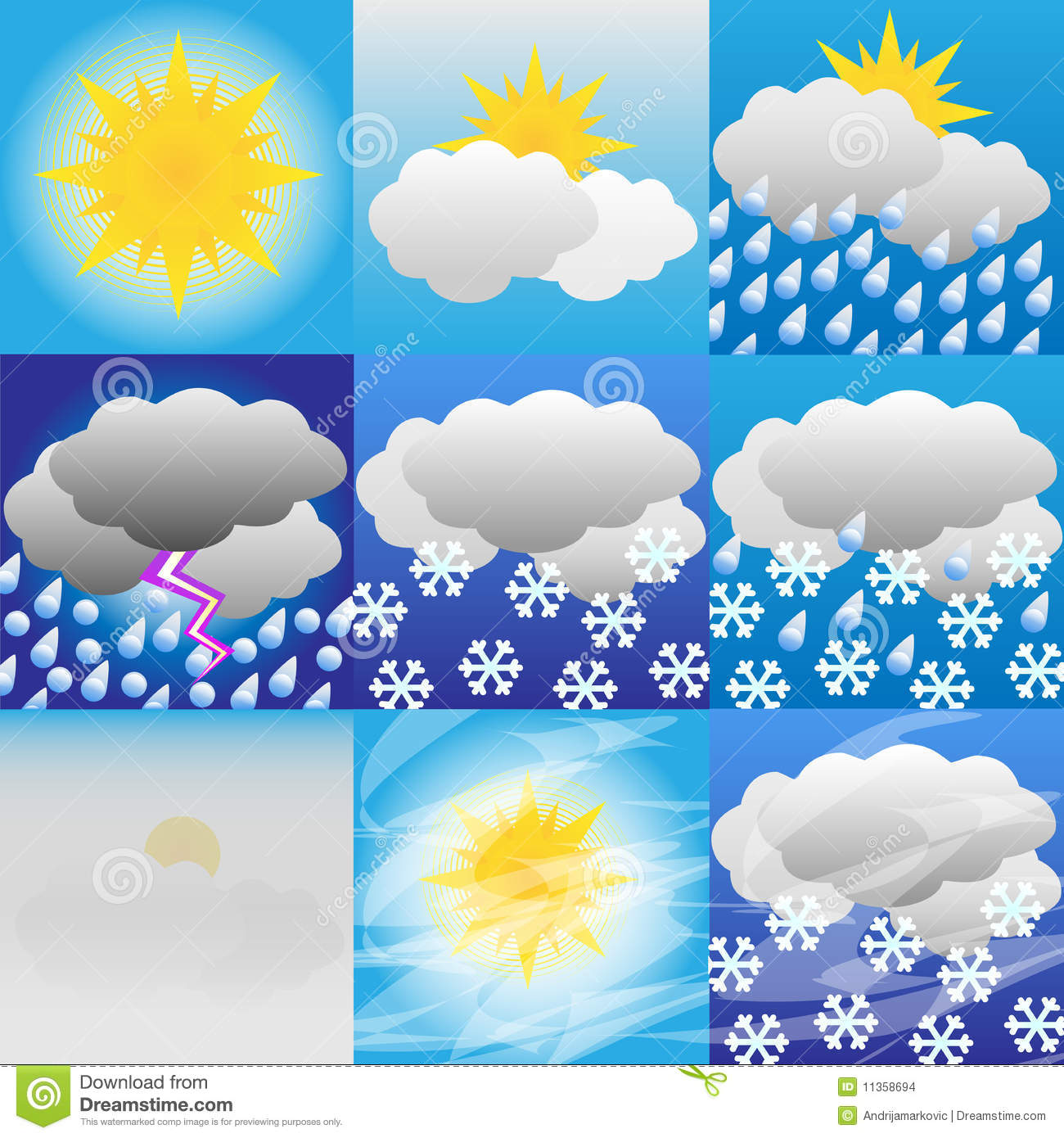Weather-Meteorology Stock Images - Image: 11358694