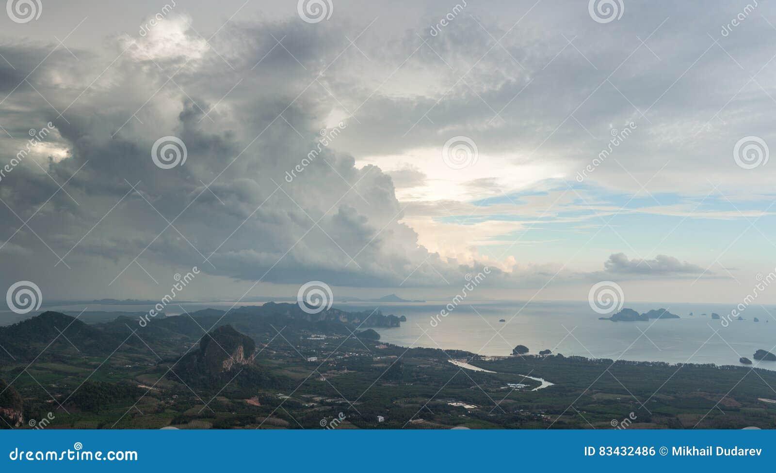 mountains sky light clouds - photo #43