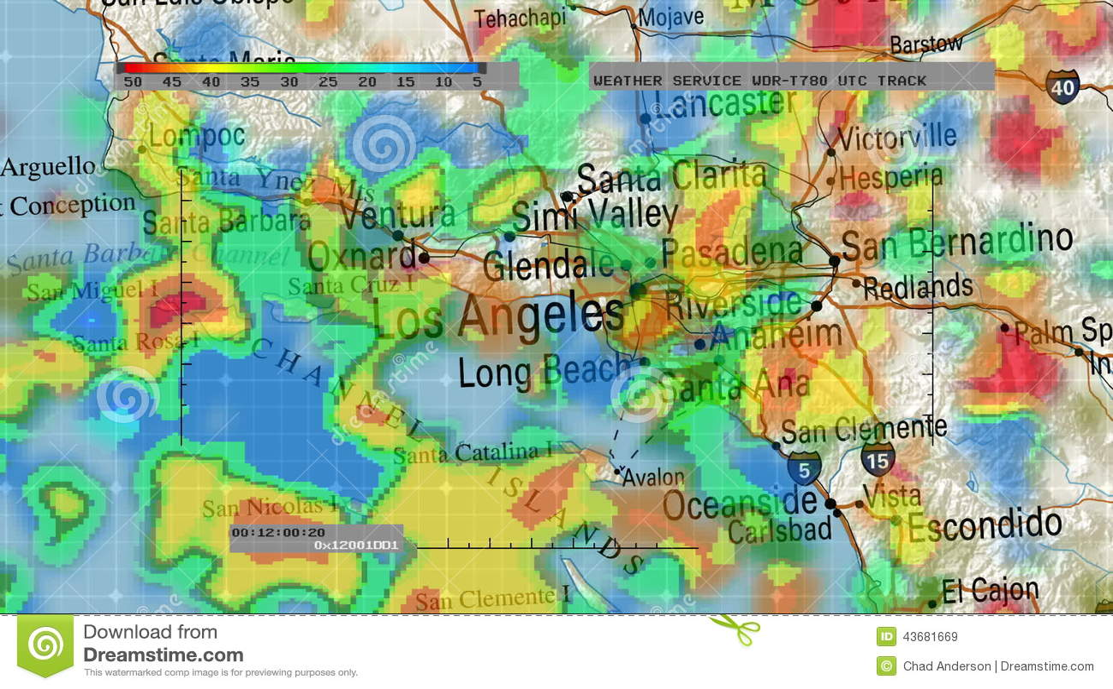 Weather Radar Digital Satellite Map Stock Video Video - Weather radar map southeast us
