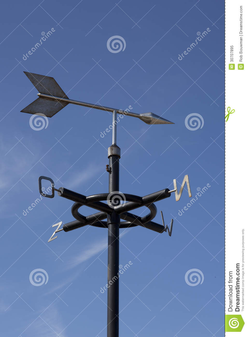 Weather Vane Royalty Free Stock Photo - Image: 30707895