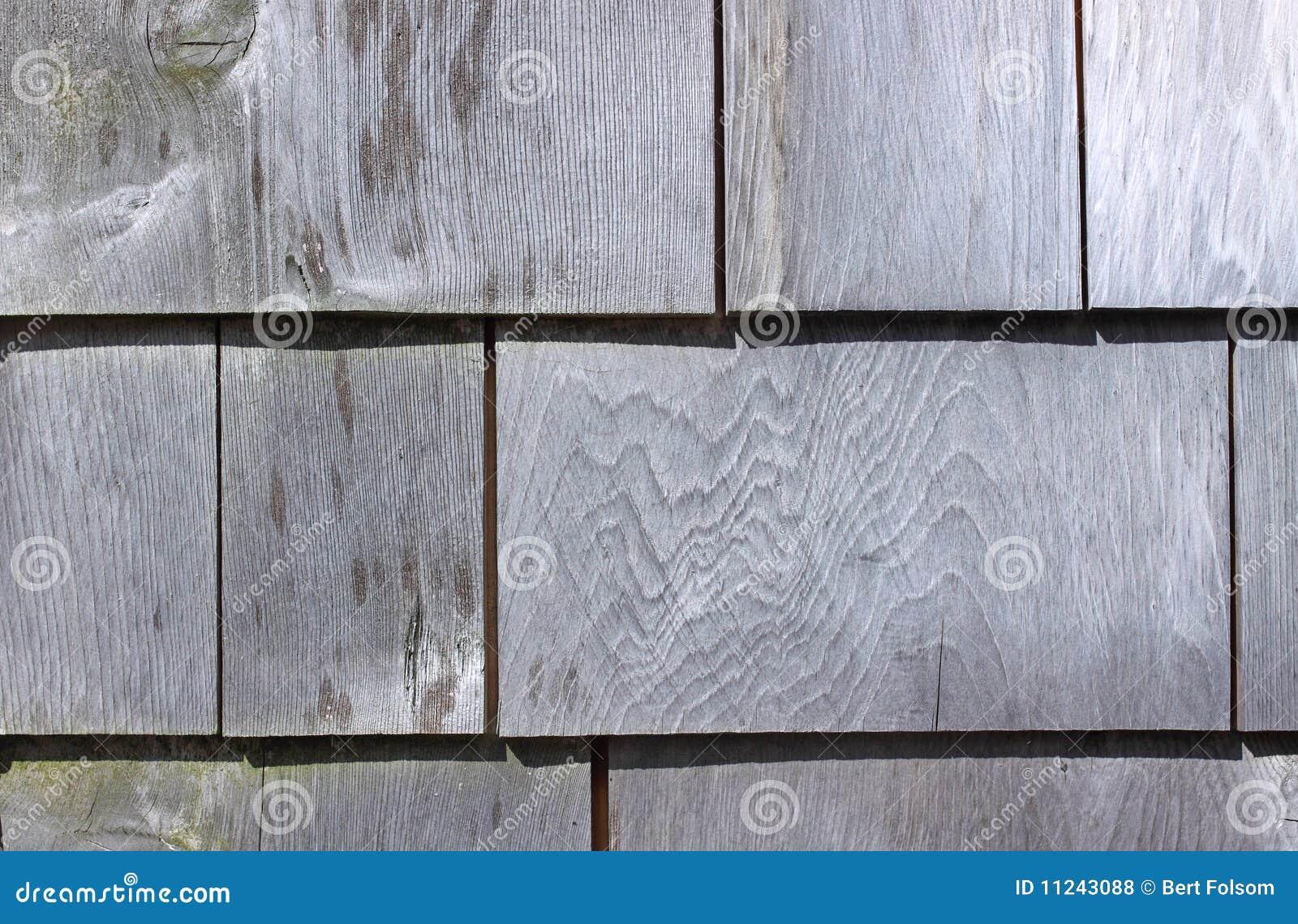 Exterior Wall Shingles : Weathered exterior cedar shingles royalty free stock