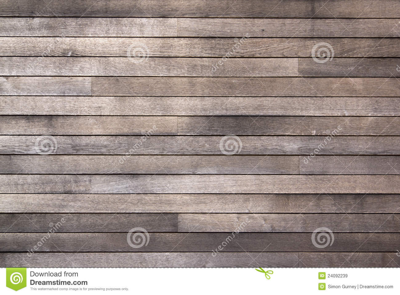 Weathered Old Dark Wooden Boards Background Stock Image