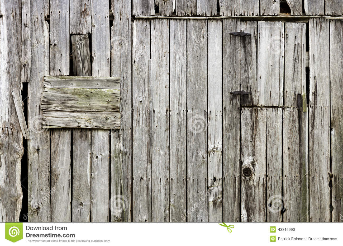 Weathered Old Wood Barn Background Stock Photo - Image ...