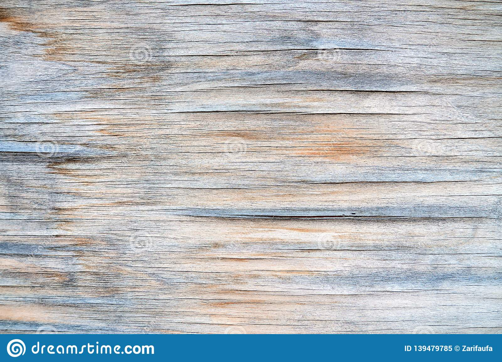 Pastel color old wood plank texture background