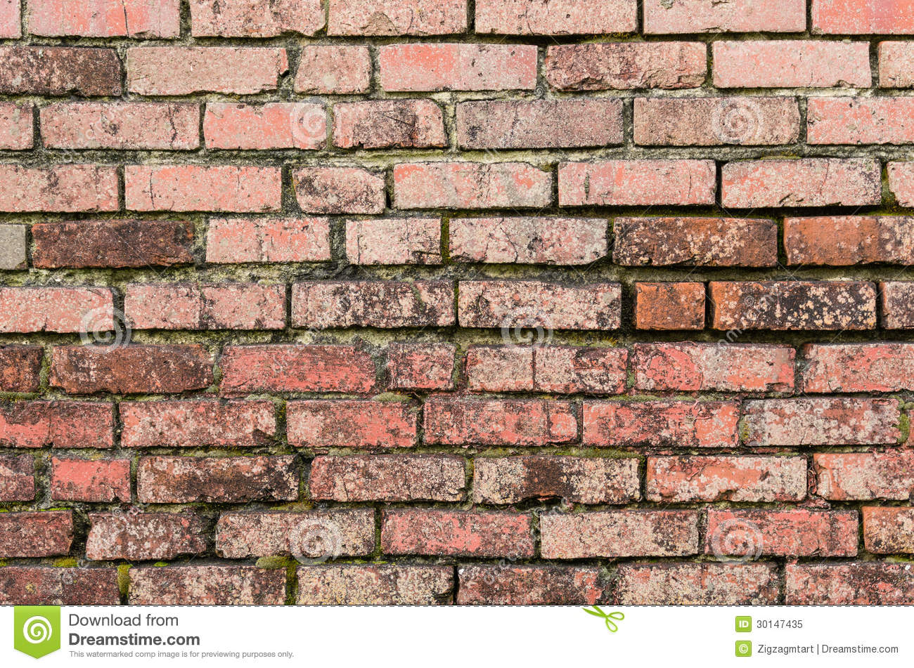 Weathered brick wall for background royalty free stock for Uses for a brick