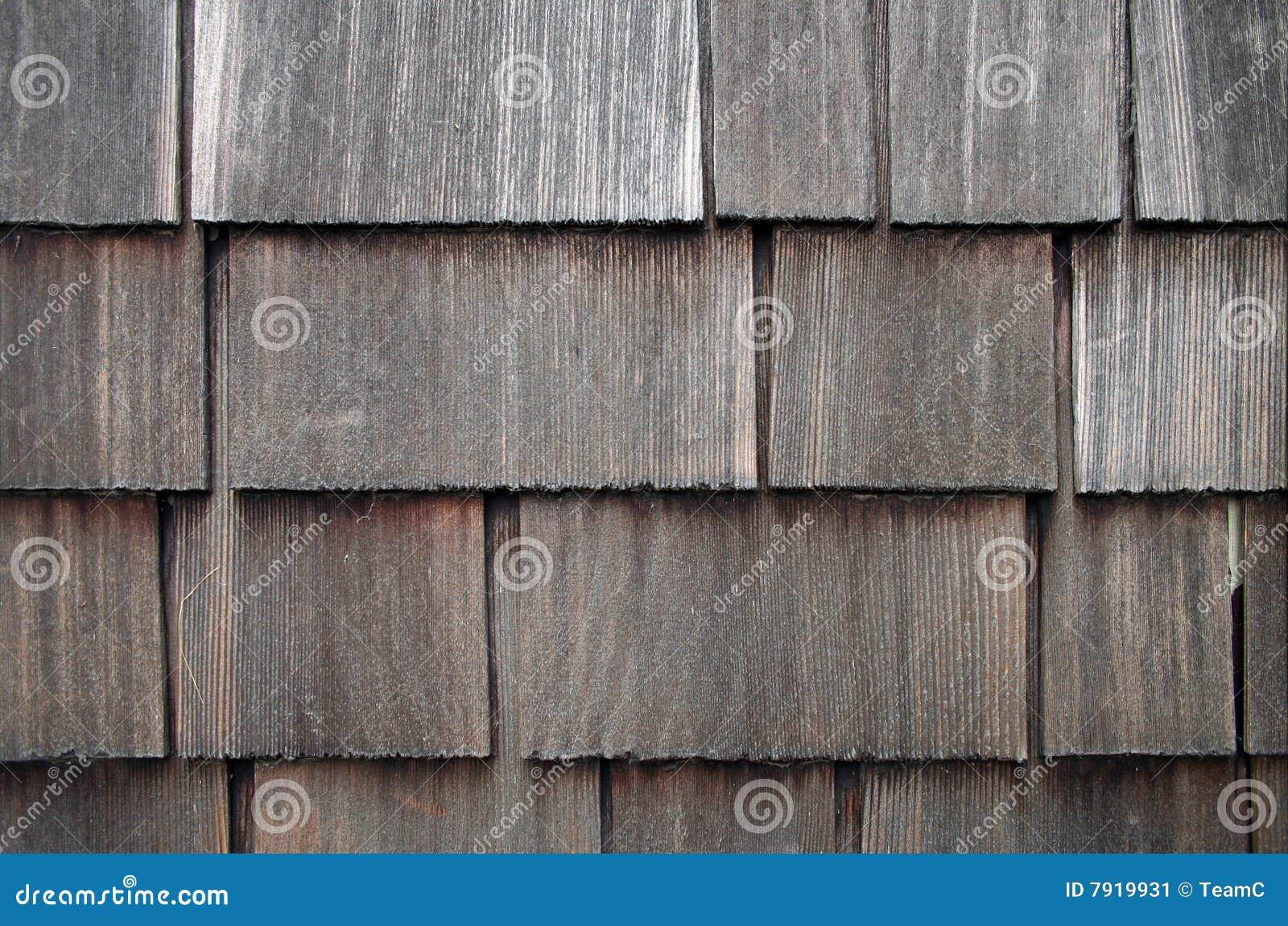 Weathered Shingle Siding Stock Image Image 7919931
