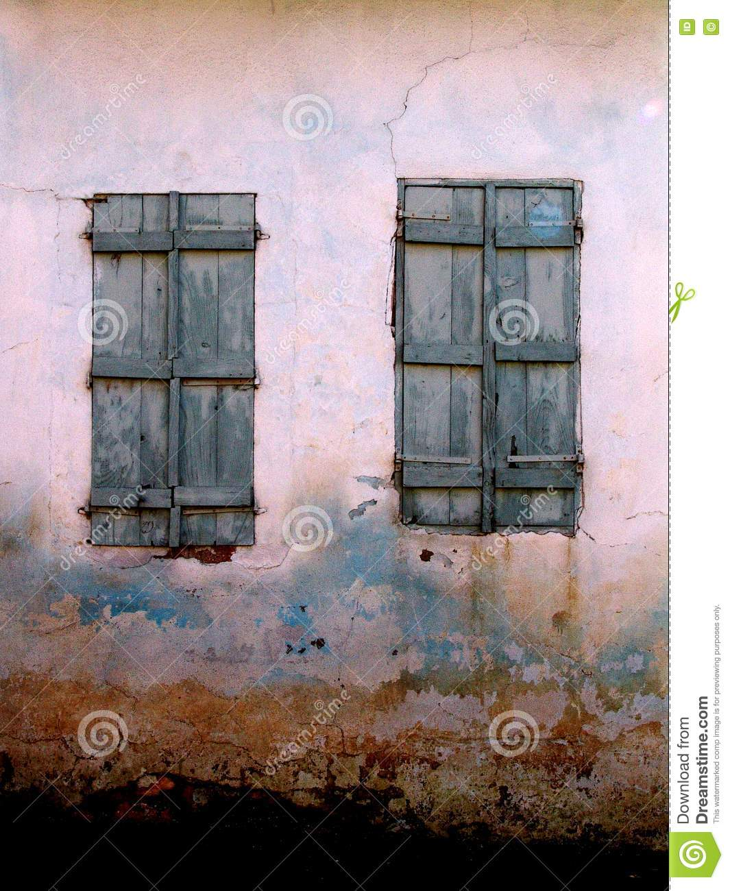 Weathered Windows Stock Photo. Image Of Weathered