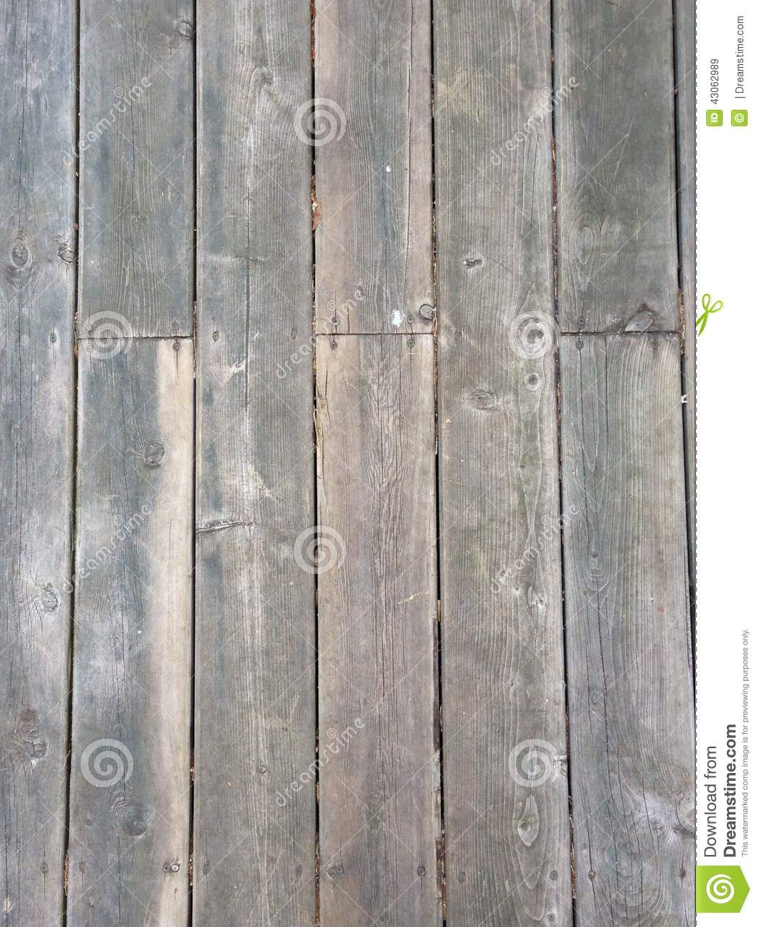 Weathered wood floor - Weathered Wood Floor Stock Photo - Image: 43062989
