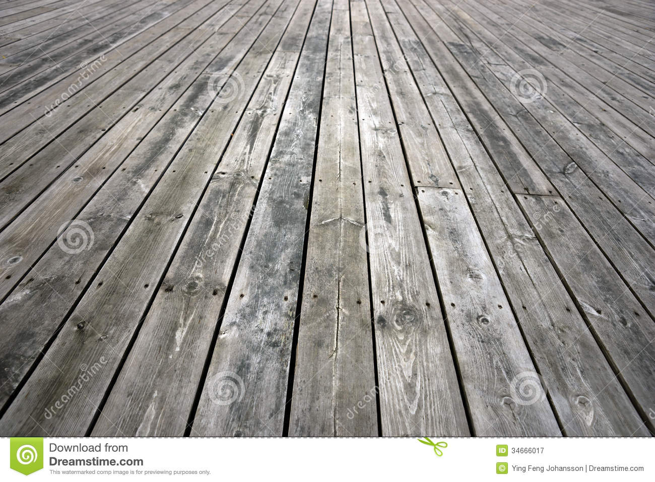 Weathered Wooden Floor Stock Image Image Of Wooden