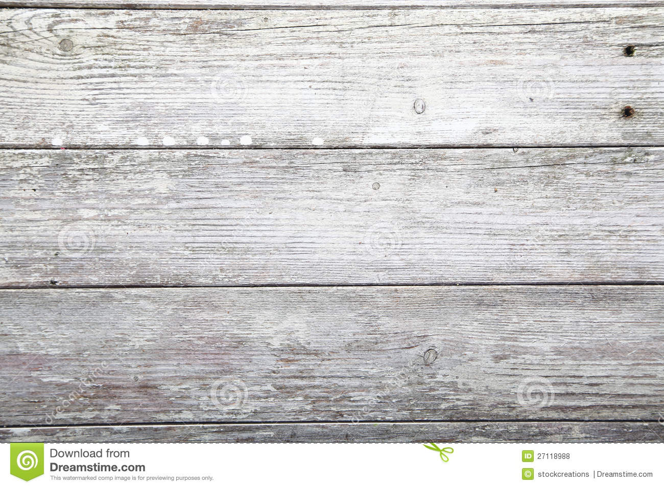 Weathered Wooden Plank Texture Stock Photo Image 27118988