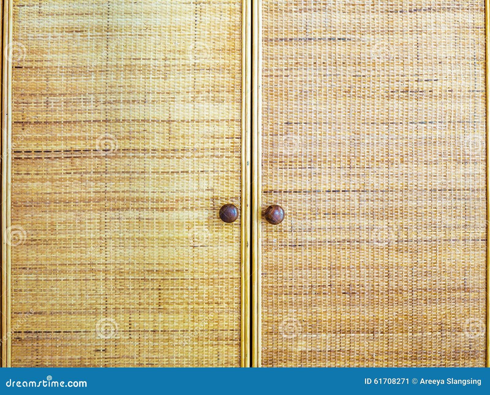 Weaved Bamboo Craft By Handmade Stock Image Image Of Handmade