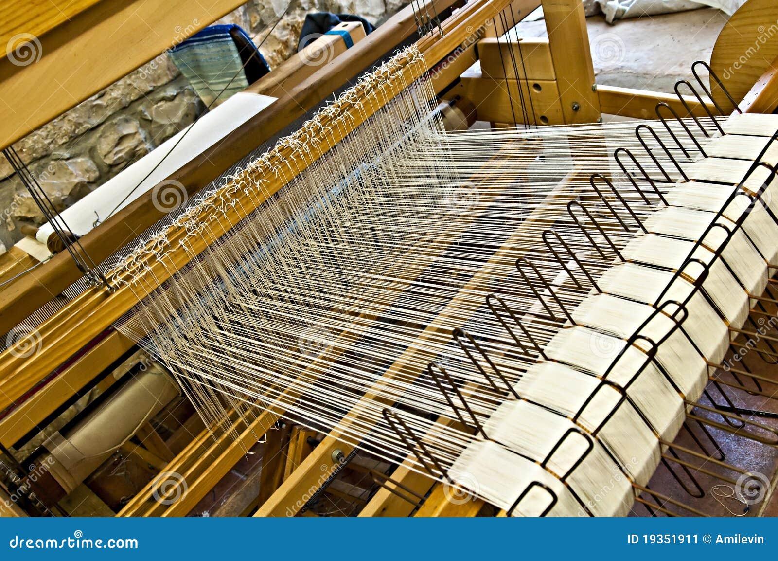 Weaving Machine Stock Image - Image: 19351911
