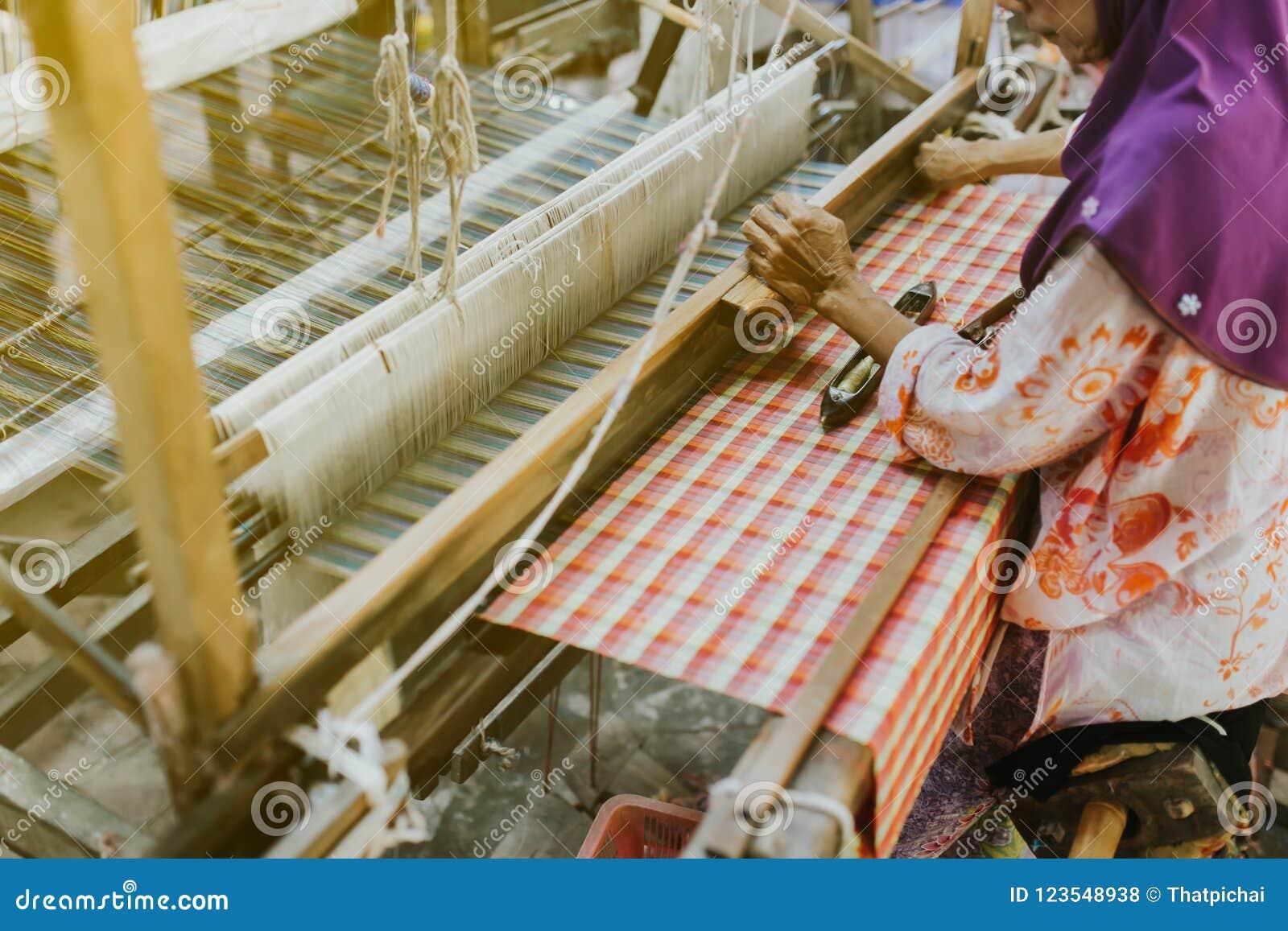 Weaving Machine - Use For Weaving Traditional Thai Silk