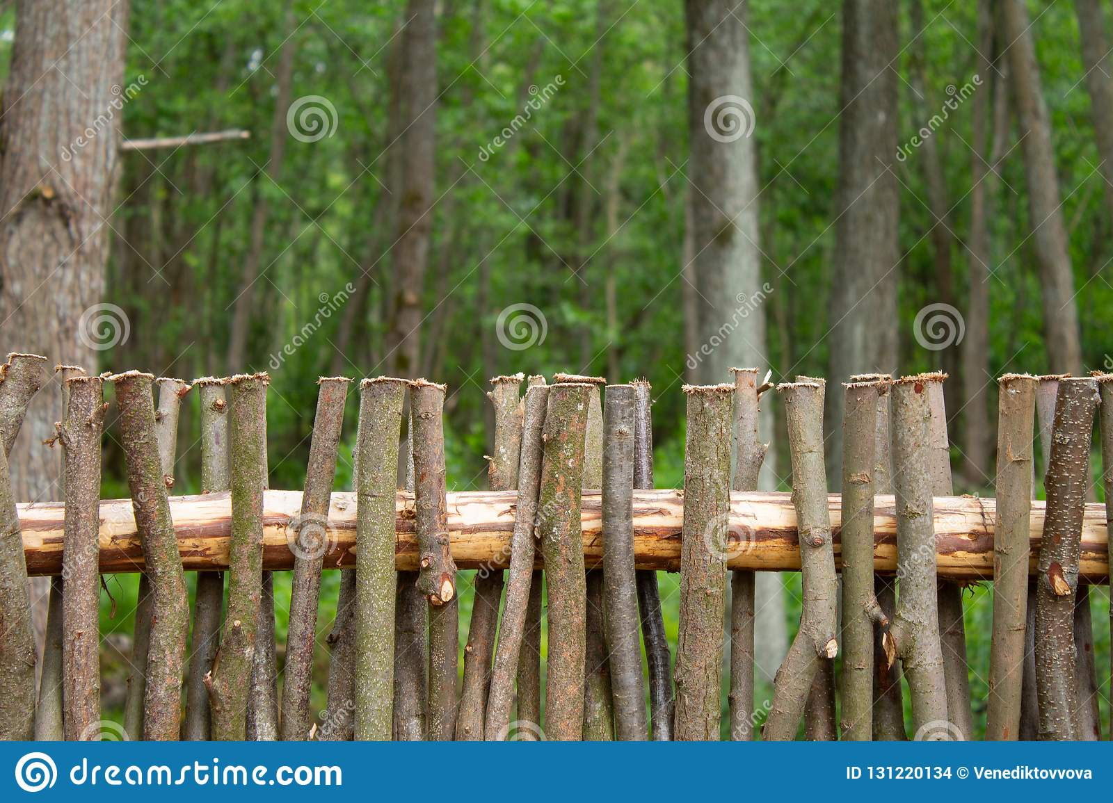 Weaving From Willow Branches Fence From Tree Branches Stock Photo Image Of Backdrop Bamboo 131220134