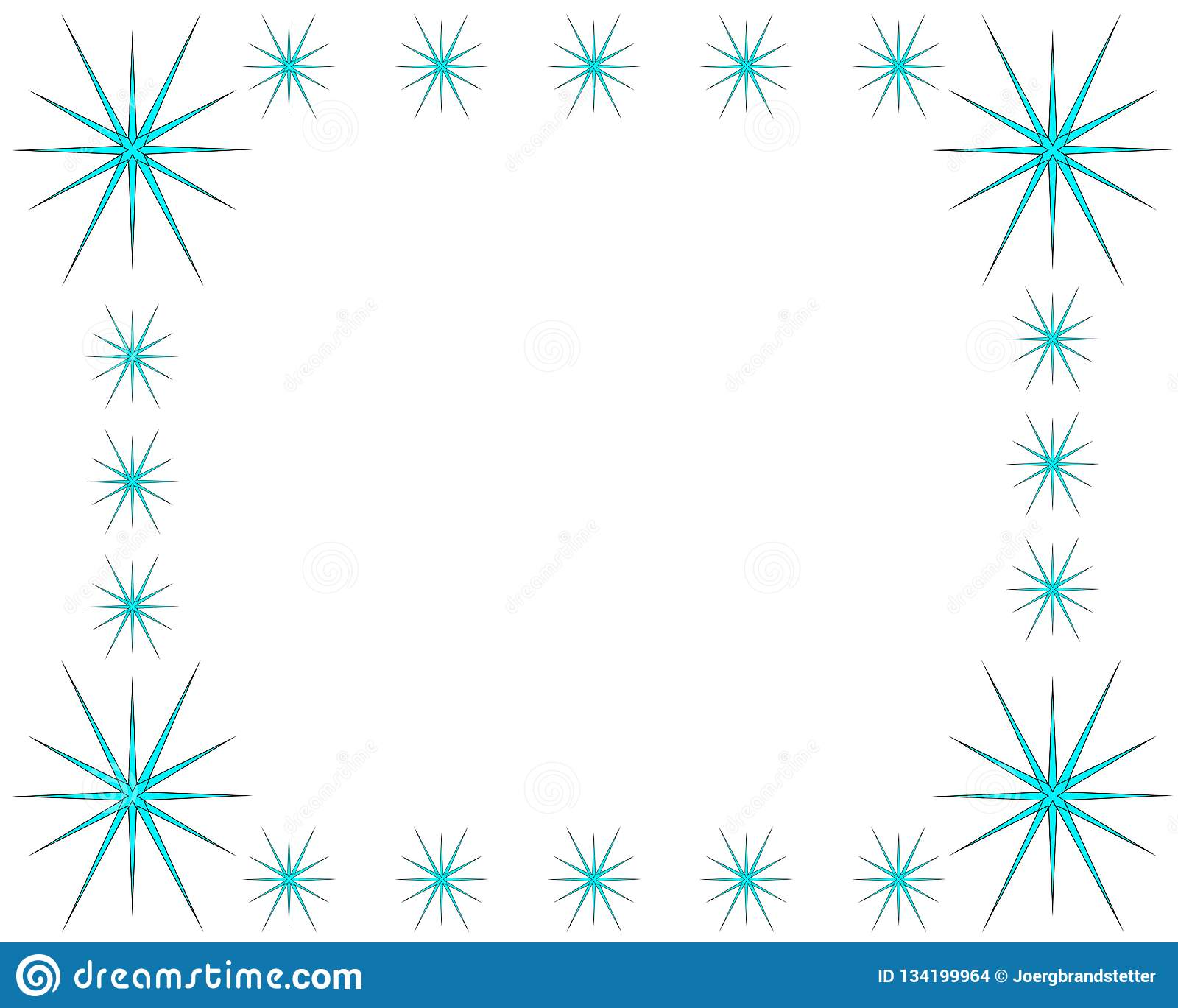 953bea7d8a06 Ice Crystal Frame On White Background With Copy Space Stock Vector ...