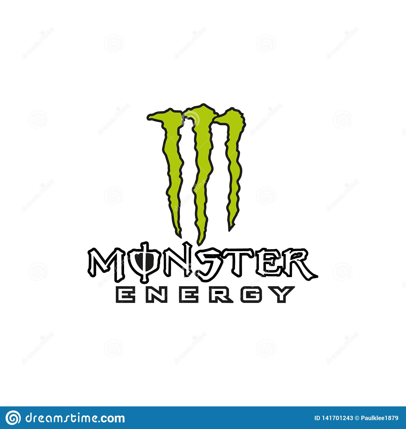 Monster Energy Logo Stock Illustrations 86 Monster Energy Logo Stock Illustrations Vectors Clipart Dreamstime
