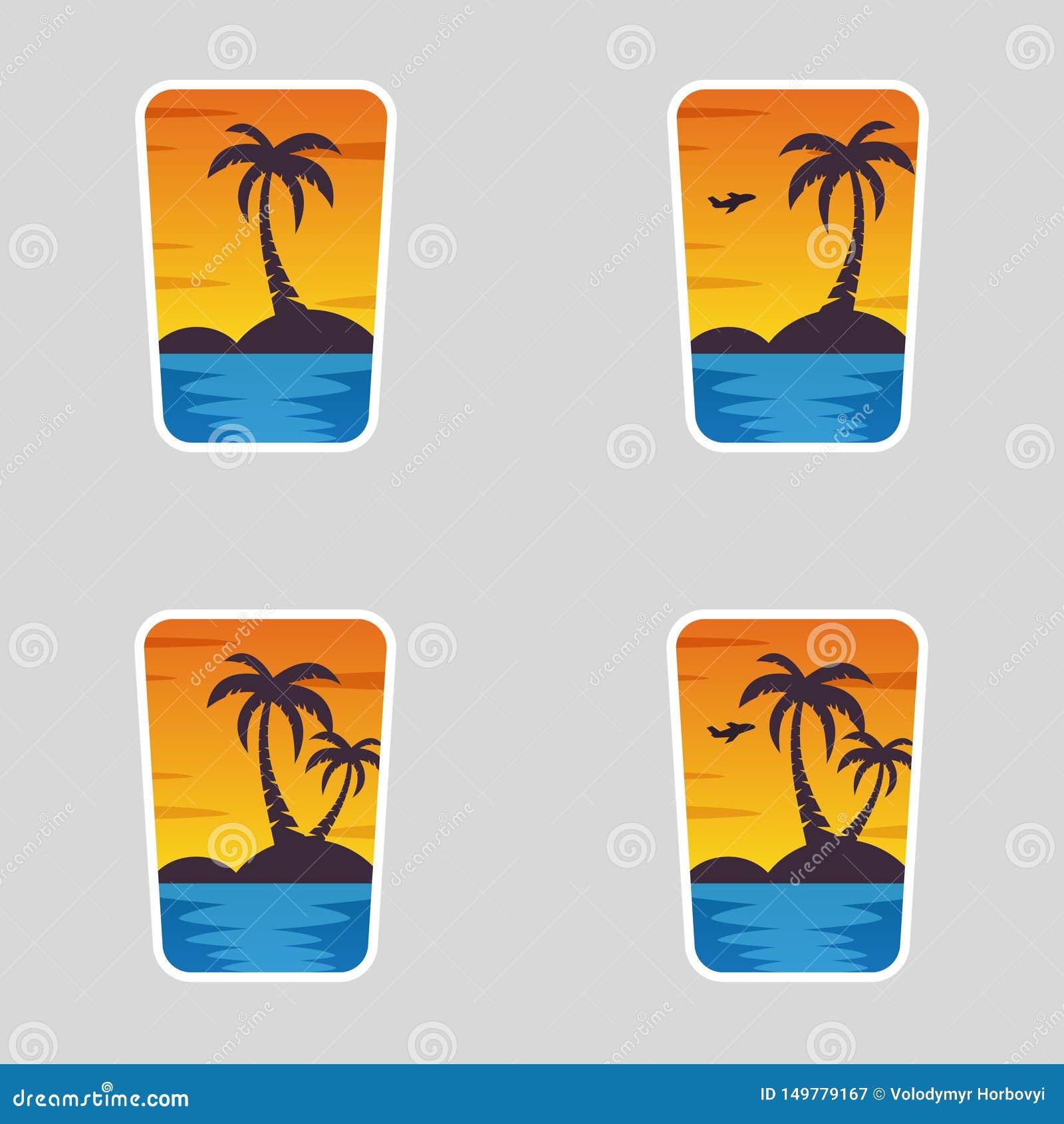 4 in 1 logotypes, Summer