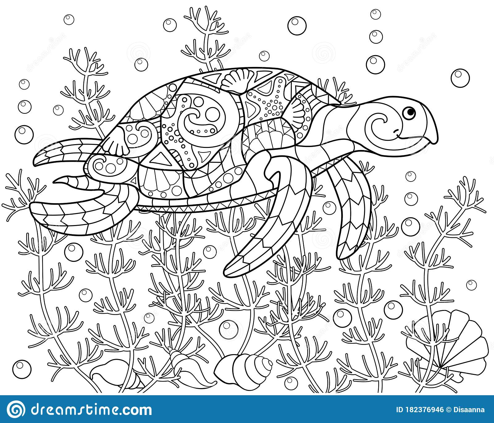Outstanding Sea Turtle Coloring Pictures – haramiran | 1370x1600