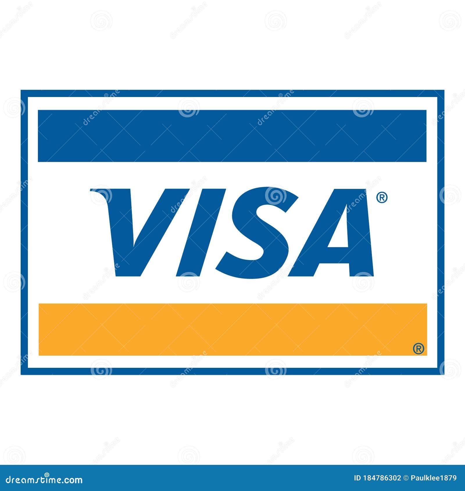 Visa Card Logo Stock Illustrations – 10 Visa Card Logo Stock