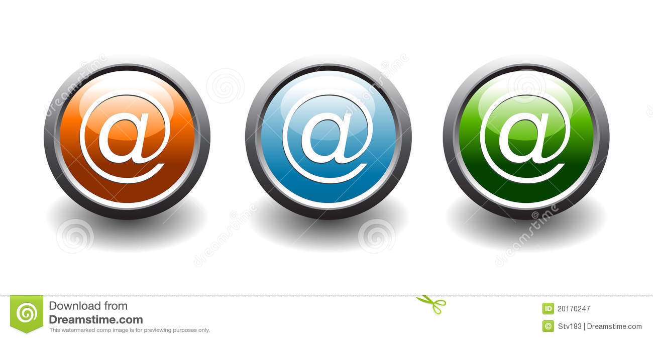 Web Address Button Icons Royalty Free Stock Photography - Image ...