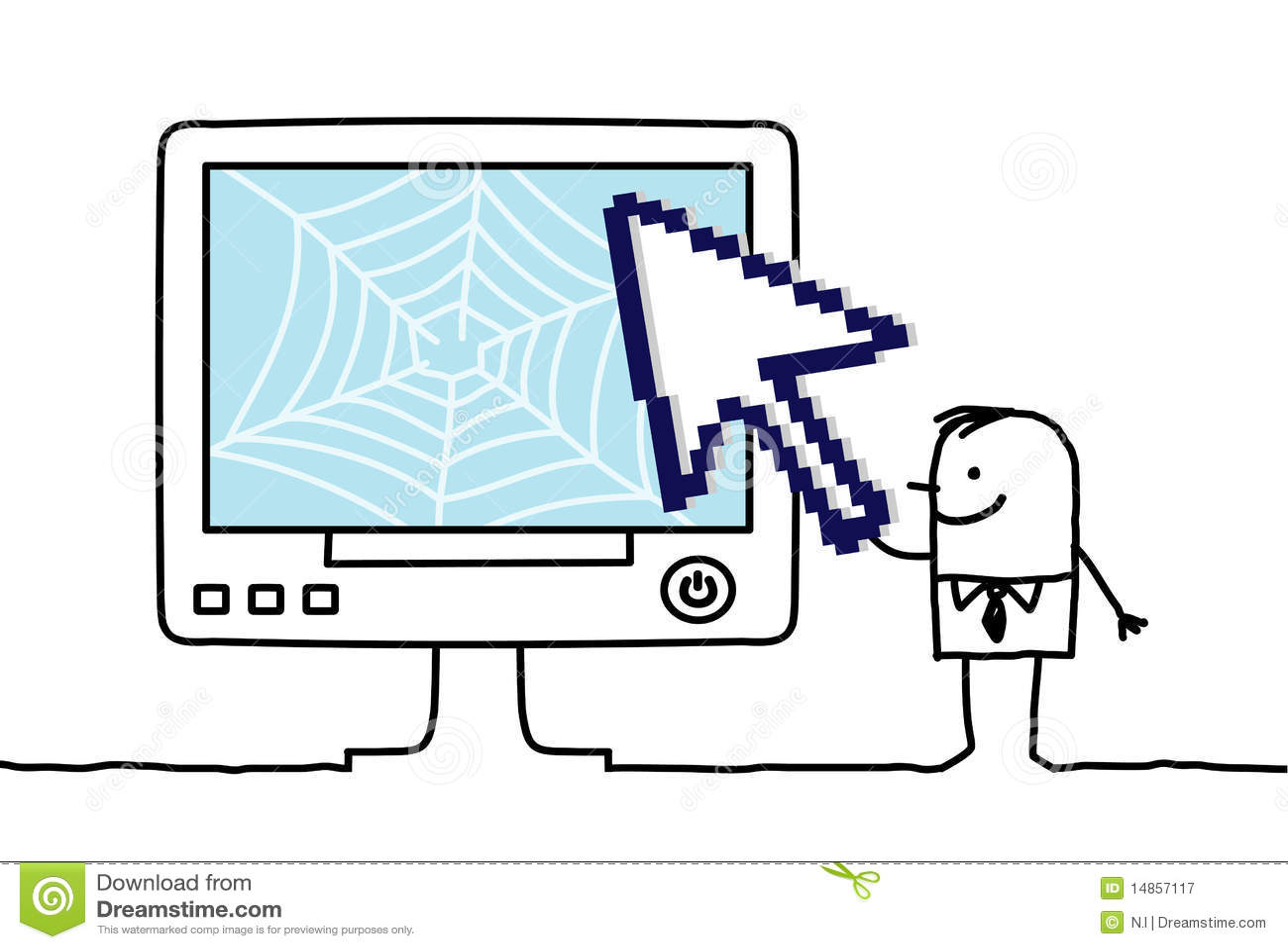 Web & arrow
