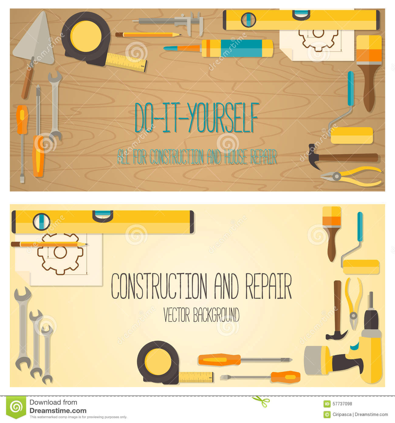 Soldering Iron - Do It Yourself Concept Stock Photo