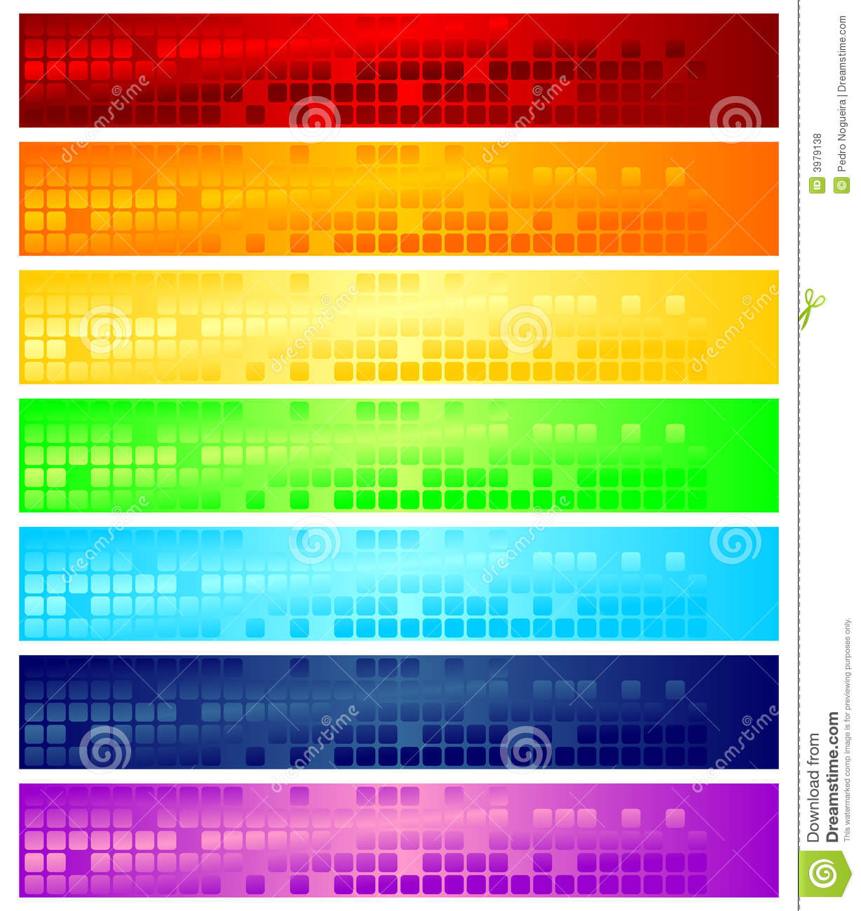 Web Banners Royalty Free Stock Photos - Image: 3979138
