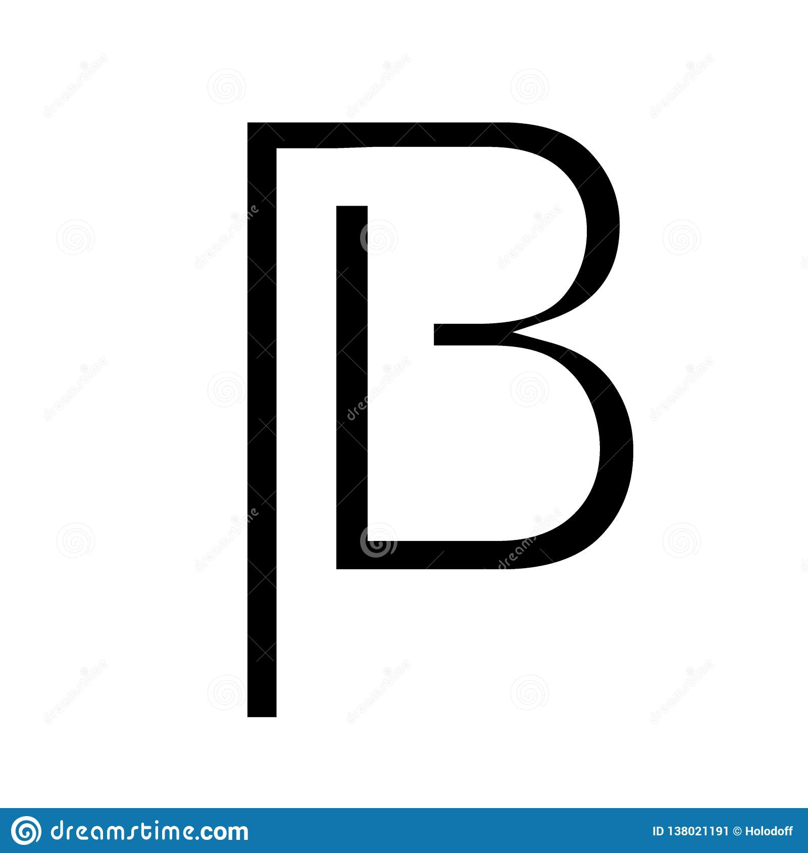 Beam coin stock vector  Illustration of graphic, data