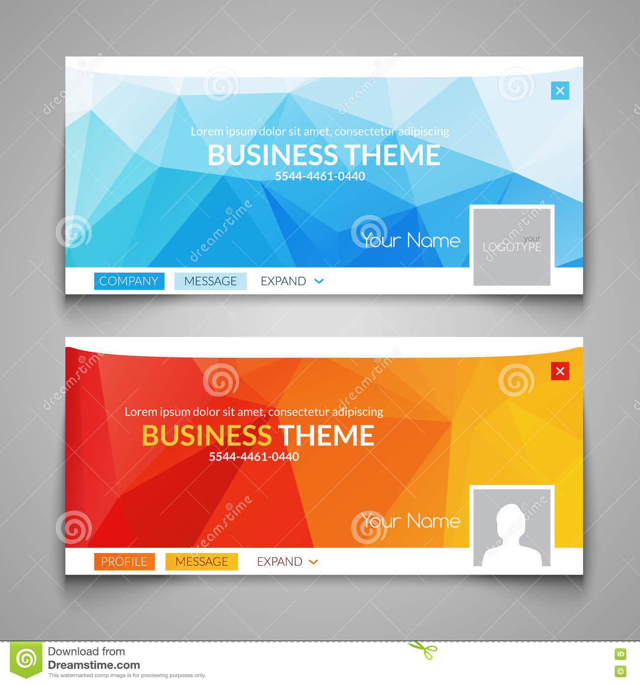 Web business site design header layout template creative for Website layout design software free download