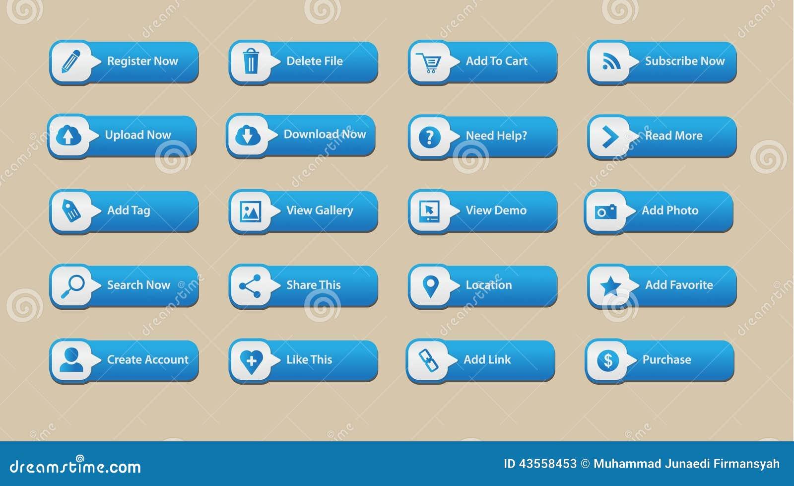 Web Button Element