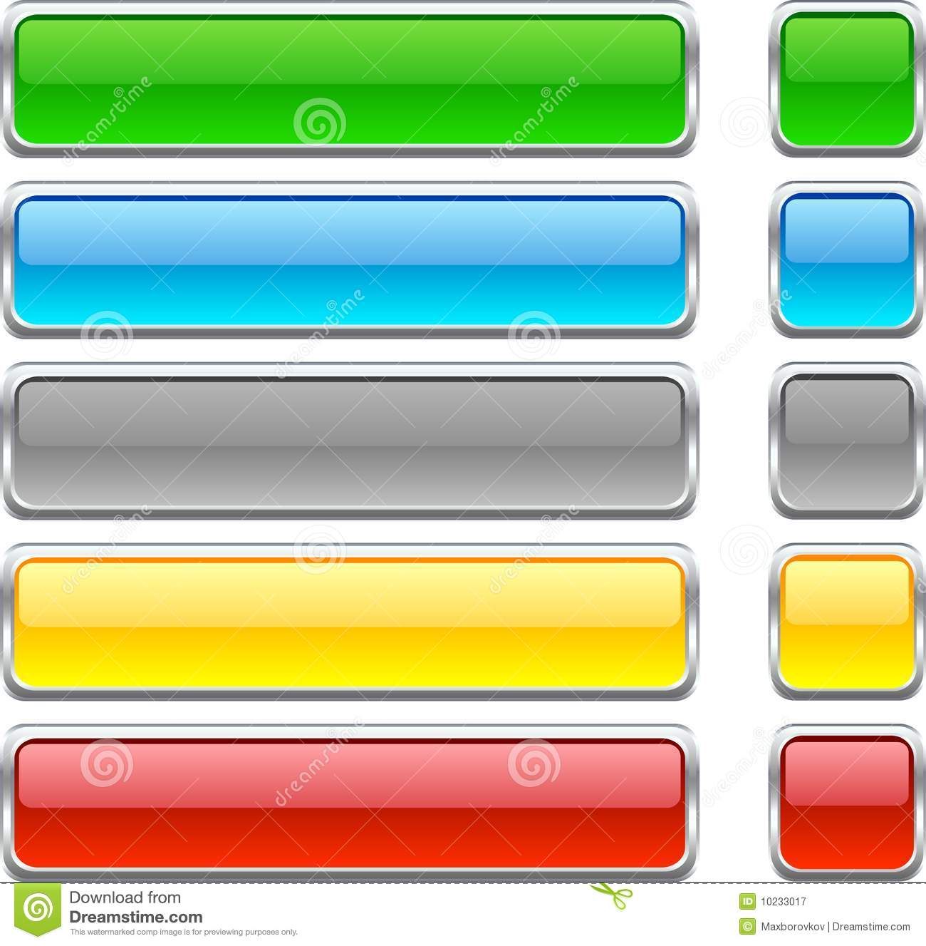 Web Buttons. Royalty Free Stock Photography - Image: 10233017