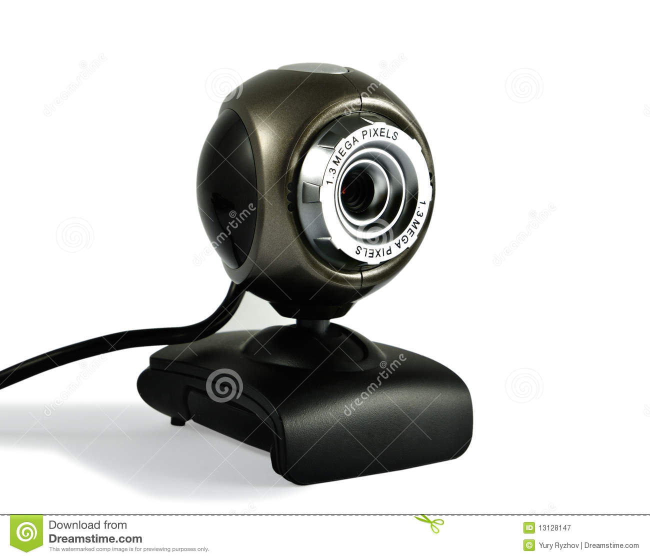 Web camera stock image image of gray isolated call 13128147 - Splugen web camera ...