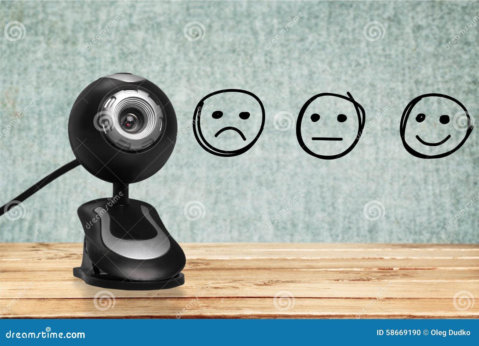 Website communication web camera
