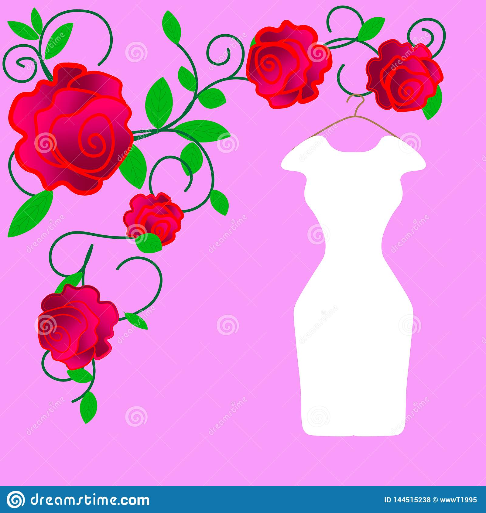 Web Conception de robe de mariage, noire et blanche