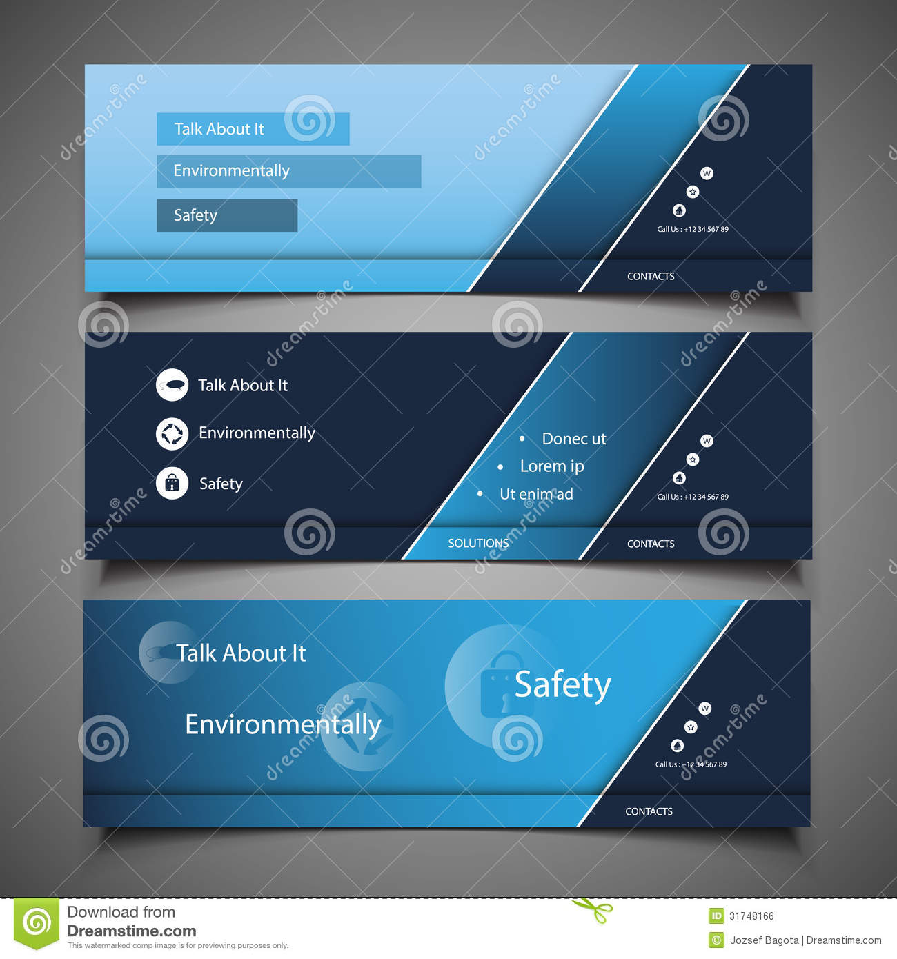 free blank banner templates