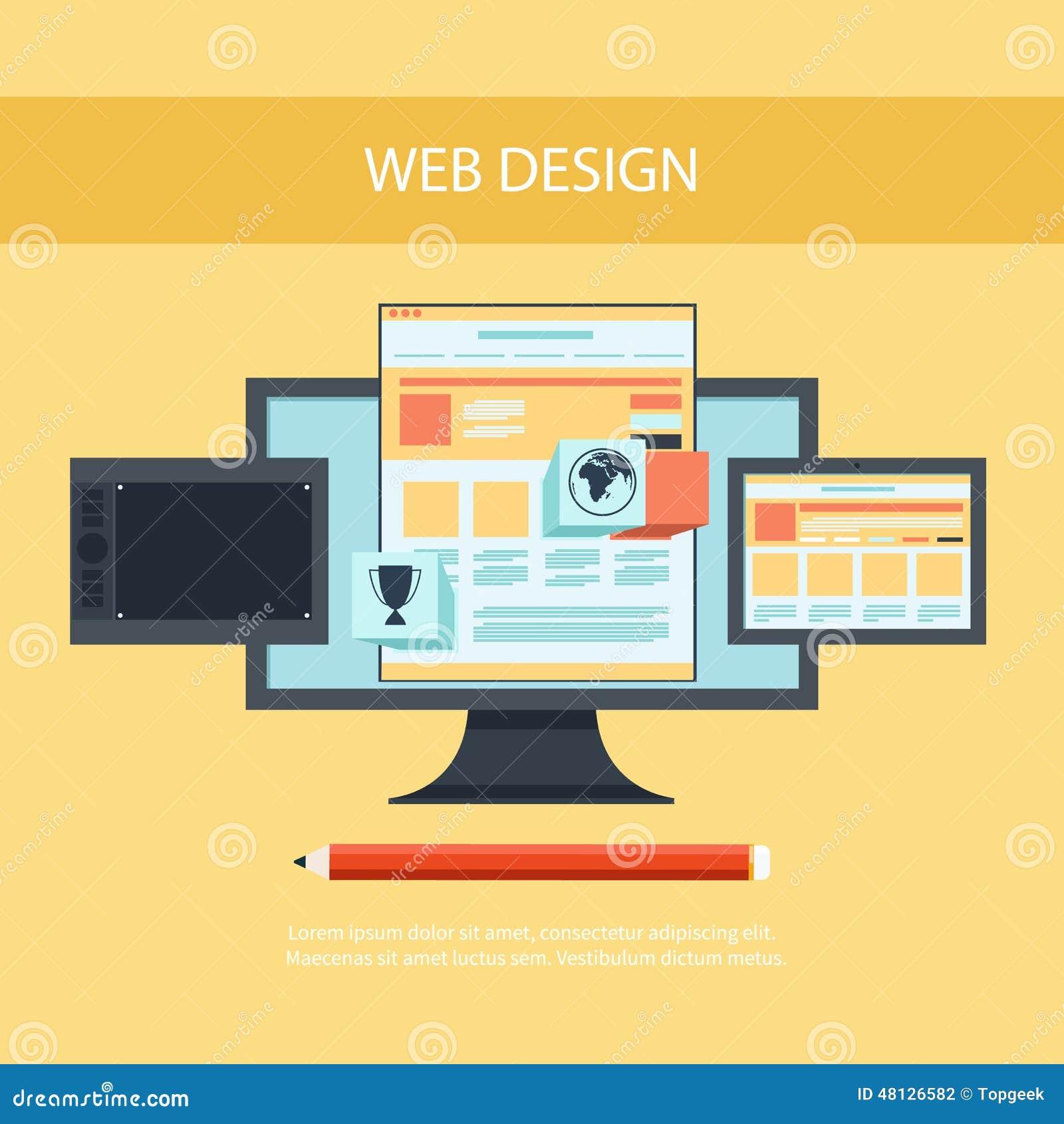 Web design program for design and architecture cartoon for Architecture website design